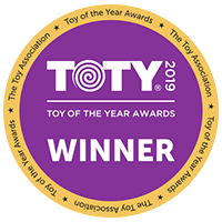Botley Won the Toy of the Year award