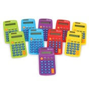 Rainbow Calculators (Set of 10)