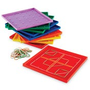 Geoboards, 5 x 5 Pin (Set of 10)
