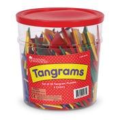 4-Color Tangrams