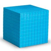 Plastic Base Ten Cube