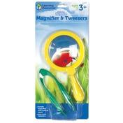 Primary Science® Magnifier & Tweezers