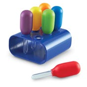 Primary Science® Jumbo Eyedroppers with Stand