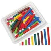 Wooden Cuisenaire® Rods Introductory Set