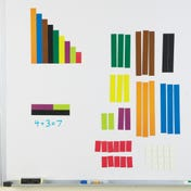 Magnetic Cuisenaire® Rods (Set of 64)