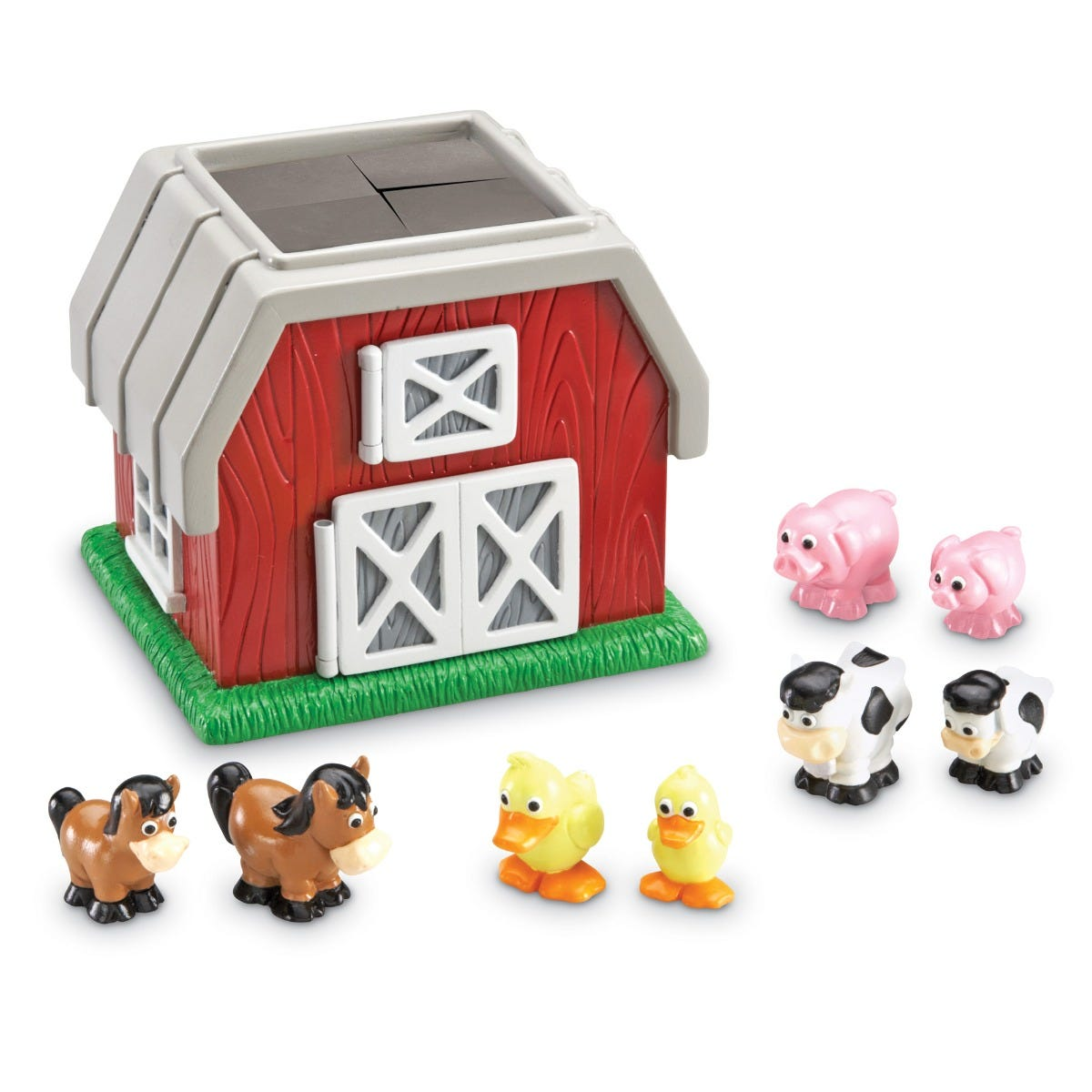 Learning Resources Hide-N-Go Moo 9 Pieces LER8922