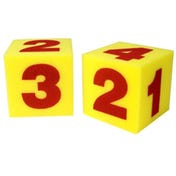 Giant Soft Number Cubes (Set of 2)