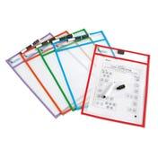 Write & Wipe Pockets (Set of 5)