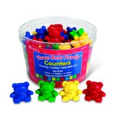 Three Bear Family® Basic Four Color Counter Set (Set of 80)