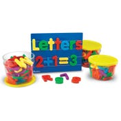 Jumbo Magnetic Letters & Numbers Bundle, 116 Pieces