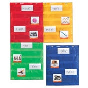 Magnetic Pocket Chart Squares (Set of 4)