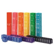 Fraction Tower® Cubes - Equivalency Set