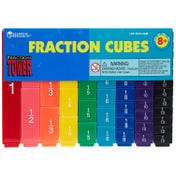 Fraction Tower® Cubes - Fraction Set