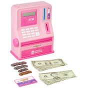 Pretend & Play® Teaching ATM Bank - Pink