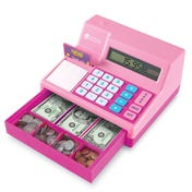 Pretend & Play® Calculator Cash Register - Pink