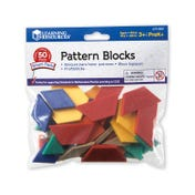 Pattern Blocks Smart Pack (Set of 50)