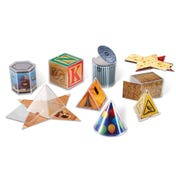Real World Folding Geometric Shapes™ (Set of 32)