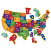 Magnetic U.S. Map Puzzle