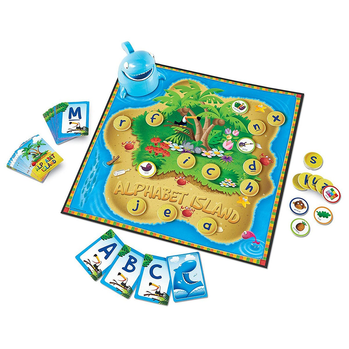Alphabet Island: A Letters & Sounds Game