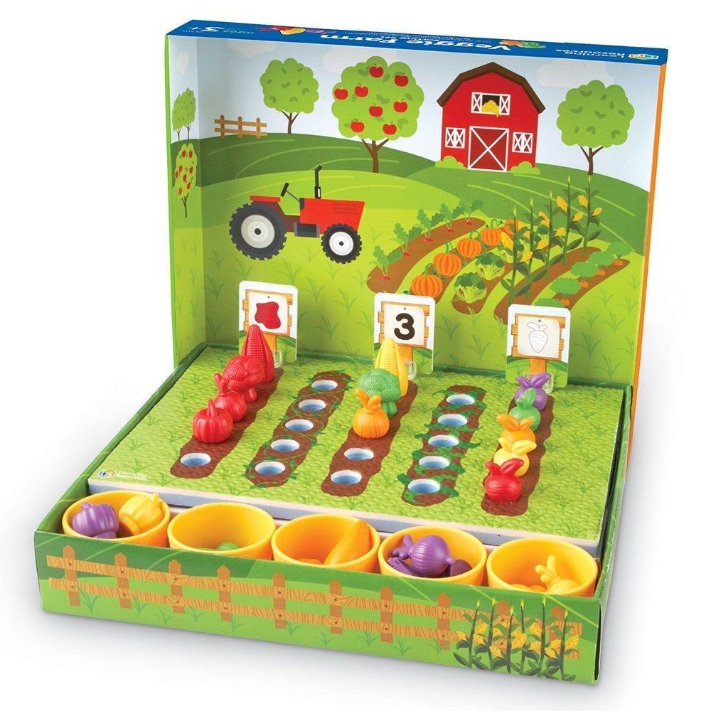 Veggie Farm Sorting Set