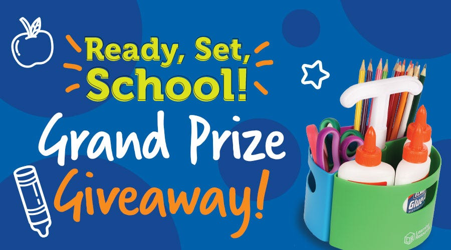 Back-to-School Giveaway!