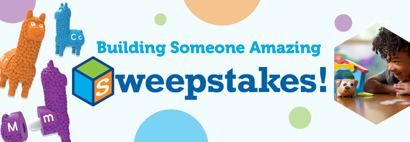 Giveaway: Building Someone Amazing!