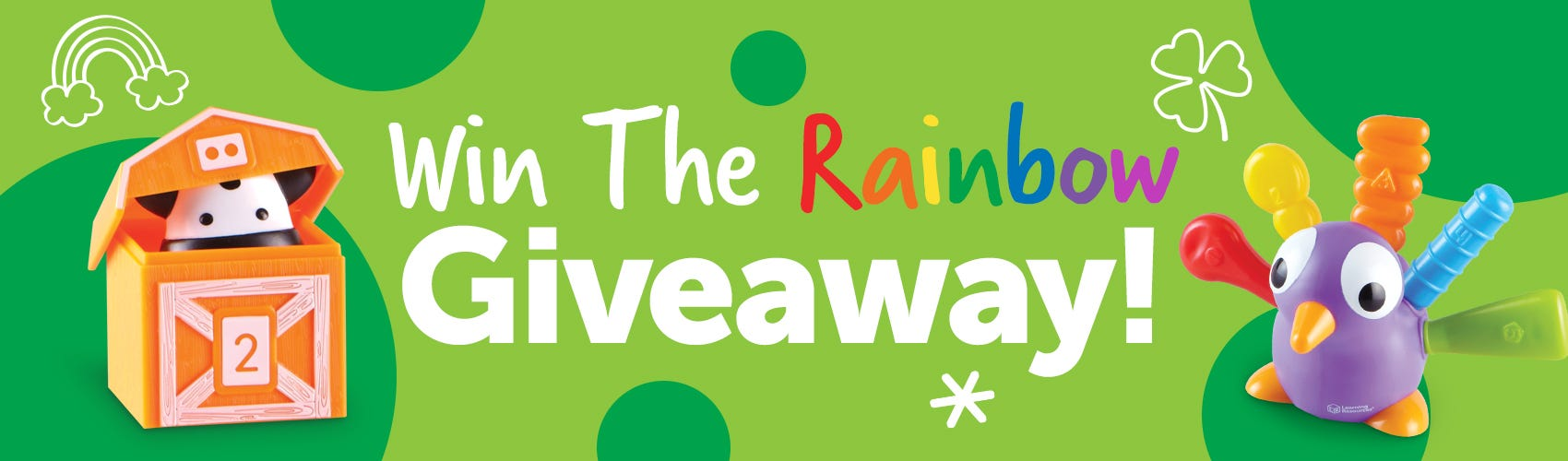 Win the Rainbow Giveaway!