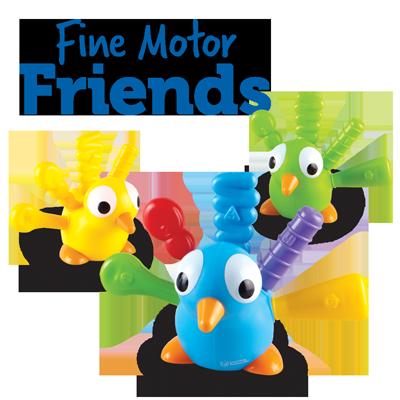 Fine Motor Friends