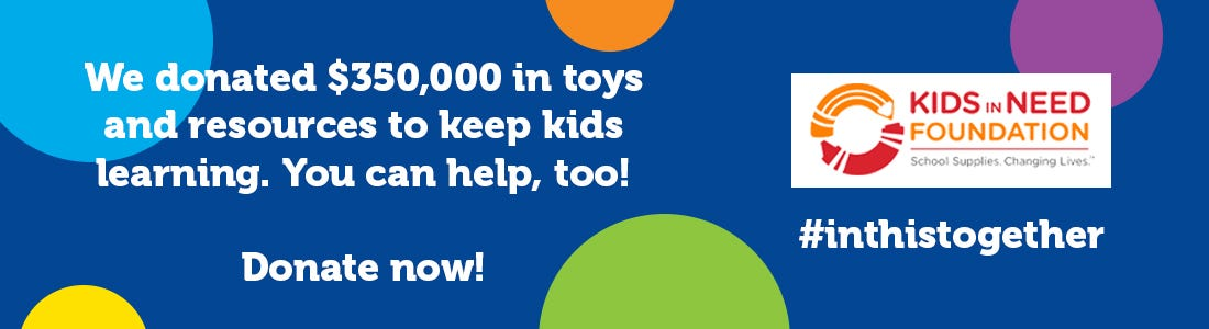 Donate to Kids In Need Foundation