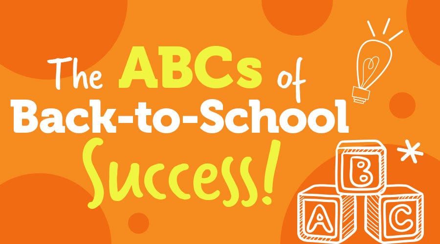 BTS: Back-to-School ABCs!