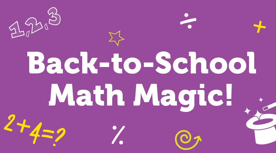 BTS: Back-to-School Math Magic!
