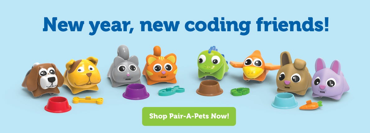 New year, new coding friends!