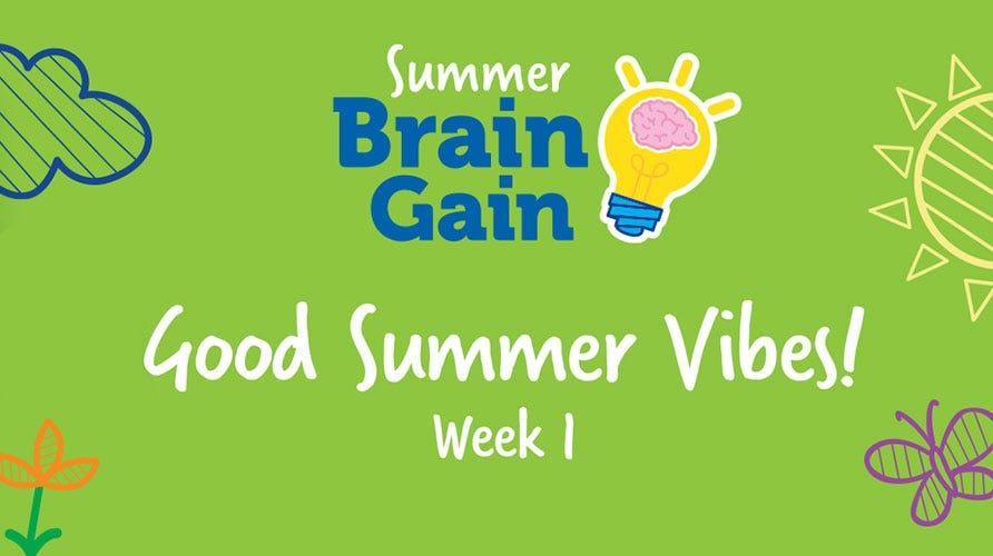 Summer Brain Gain: Good Summer Vibes!