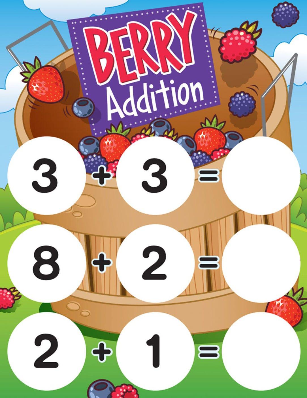 Bucket of Berries Math Game