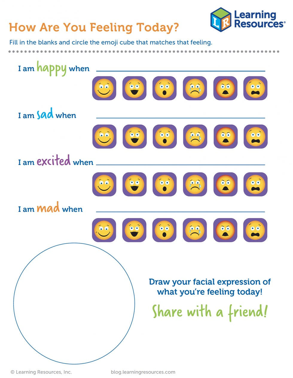 Emoji Cubes Printable
