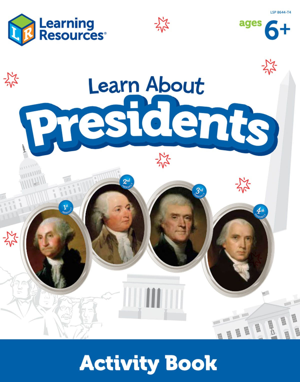 Learn About Presidents Activity Book