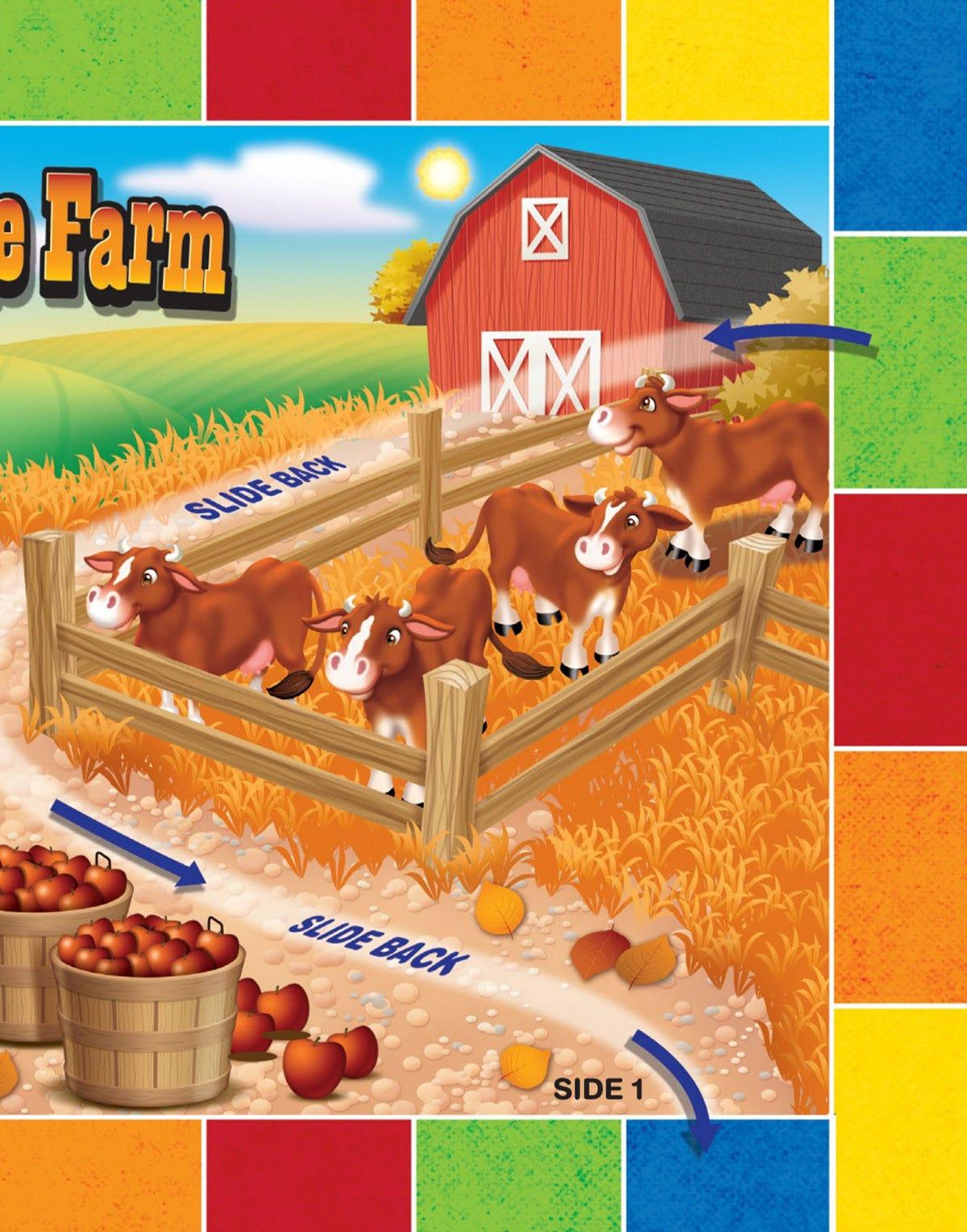 Number Fun Farm Game