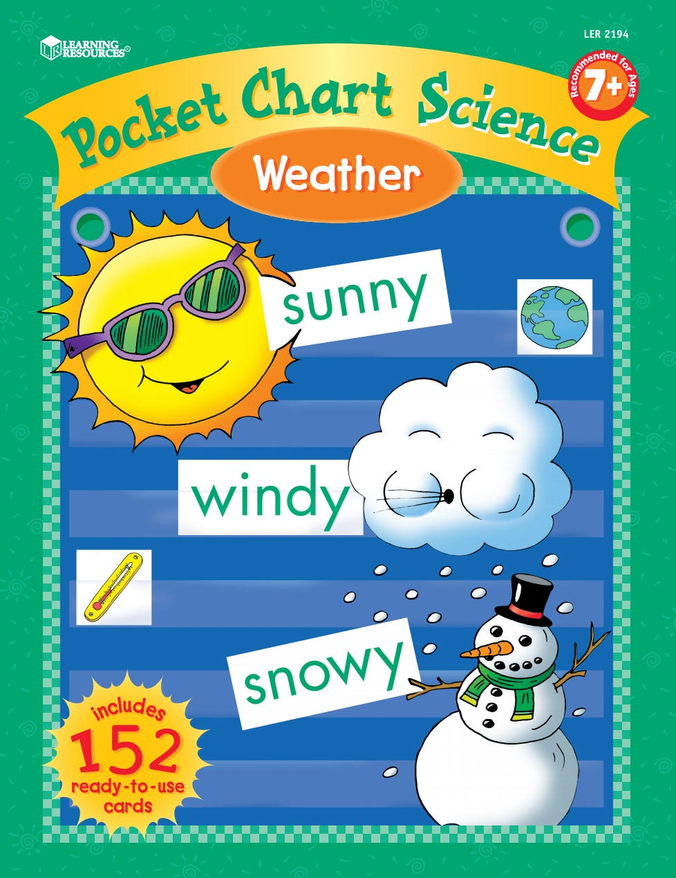 Pocket Chart Science: Weather