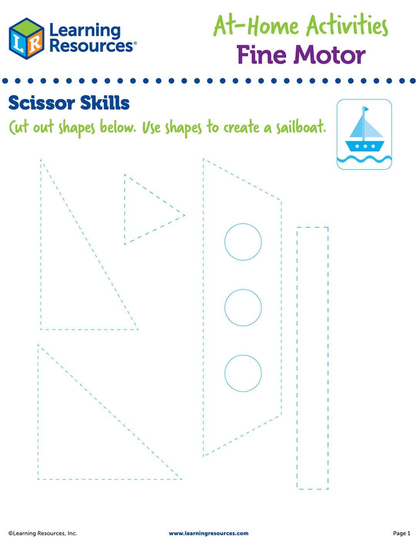 Scissor Skills Cut-Out