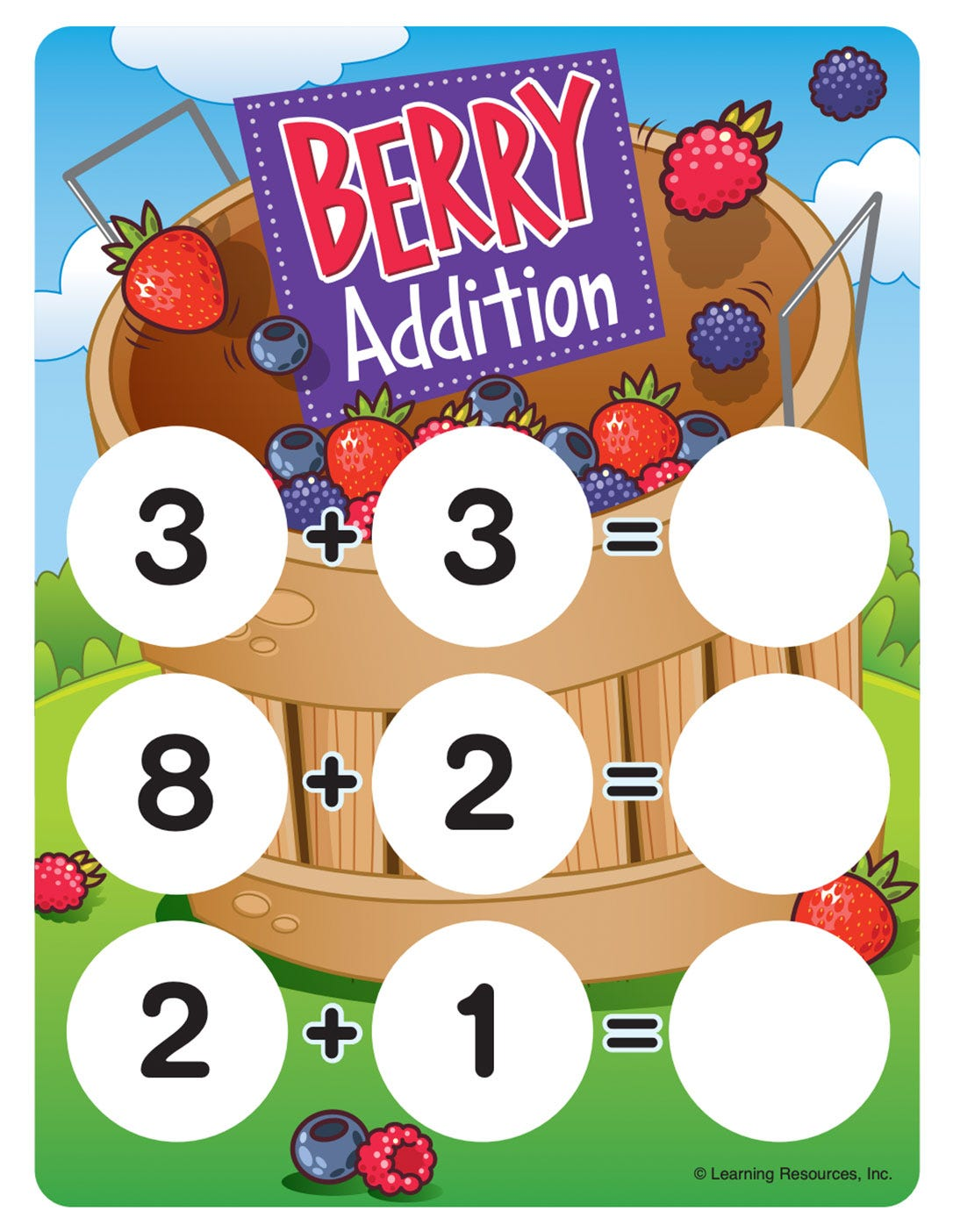 Bucket of Berries Math Game