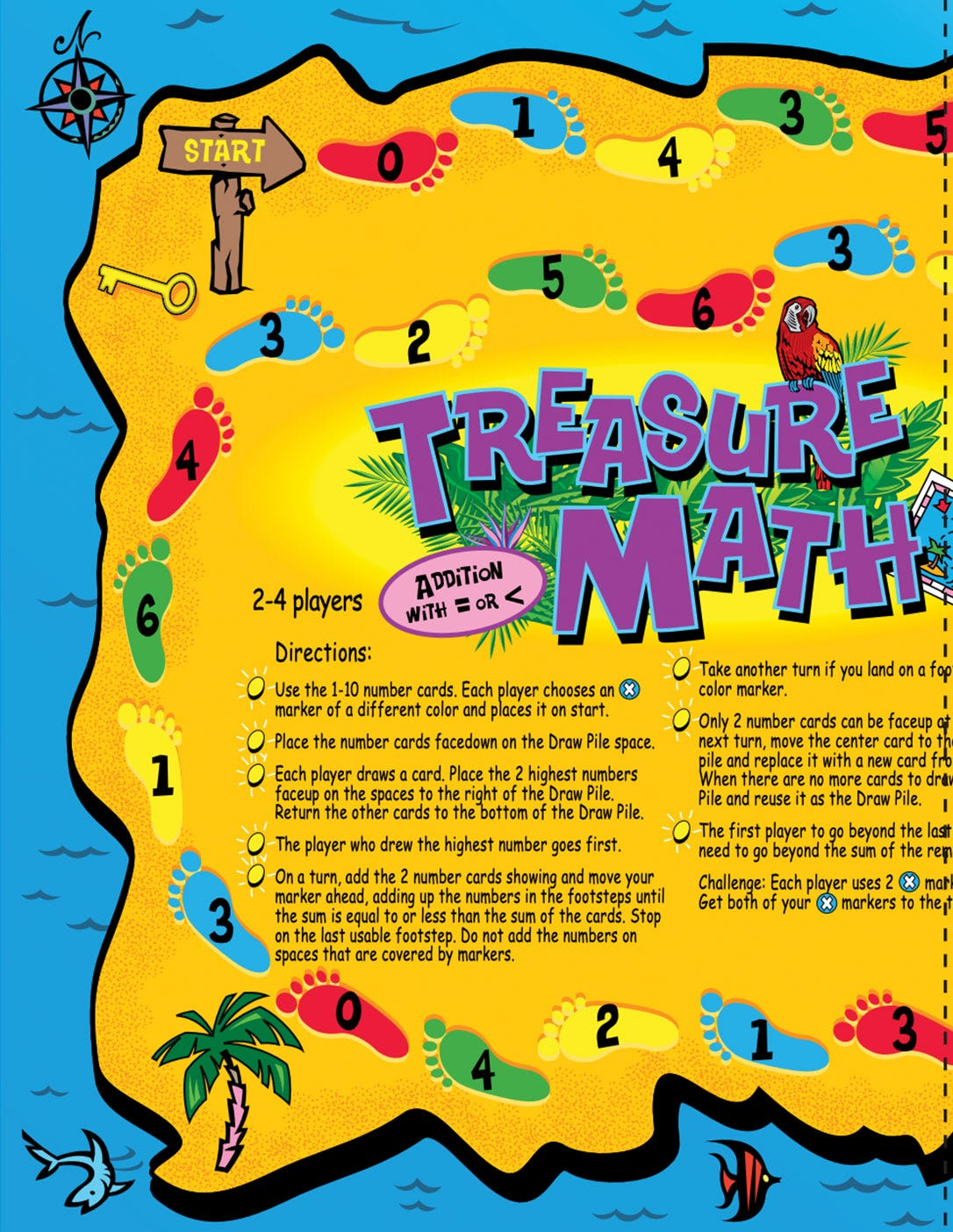 Treasure Math Game