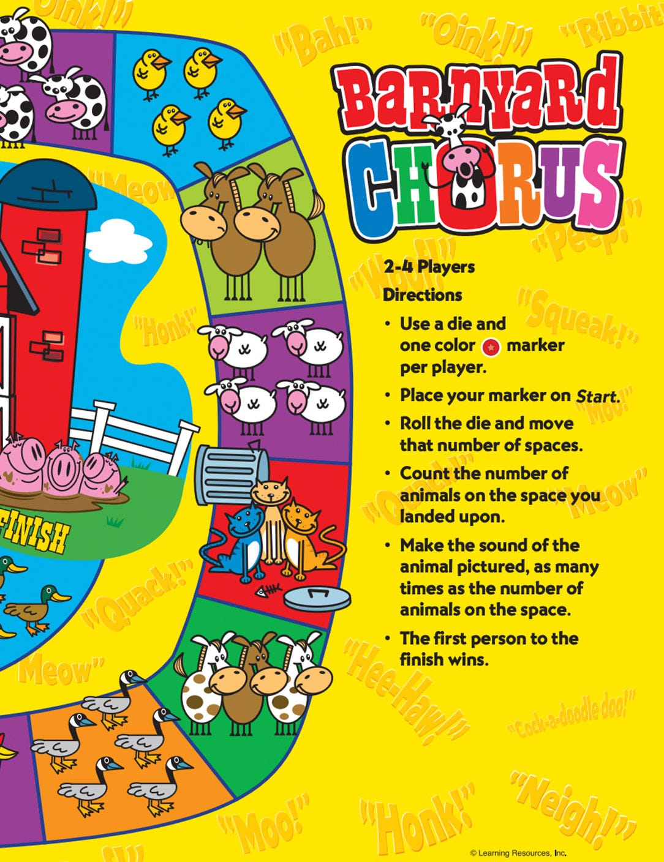 Barnyard Chorus Game