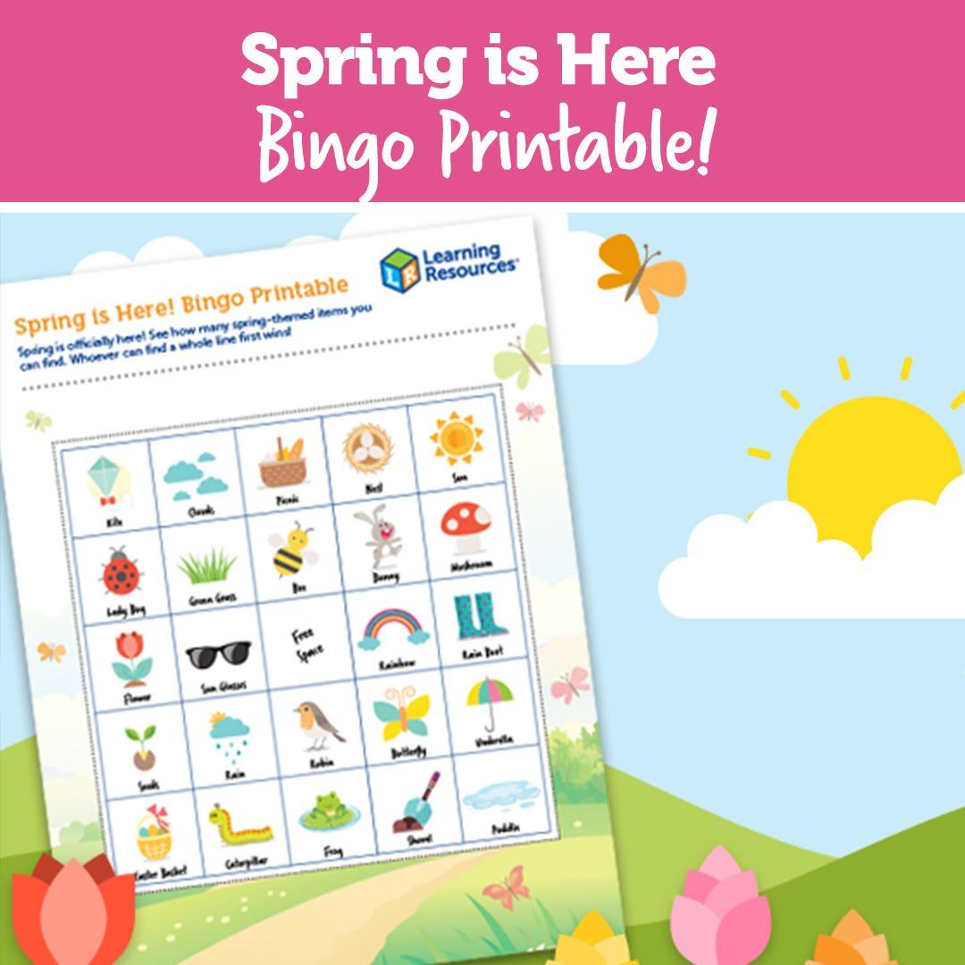 Spring Bingo Printable!