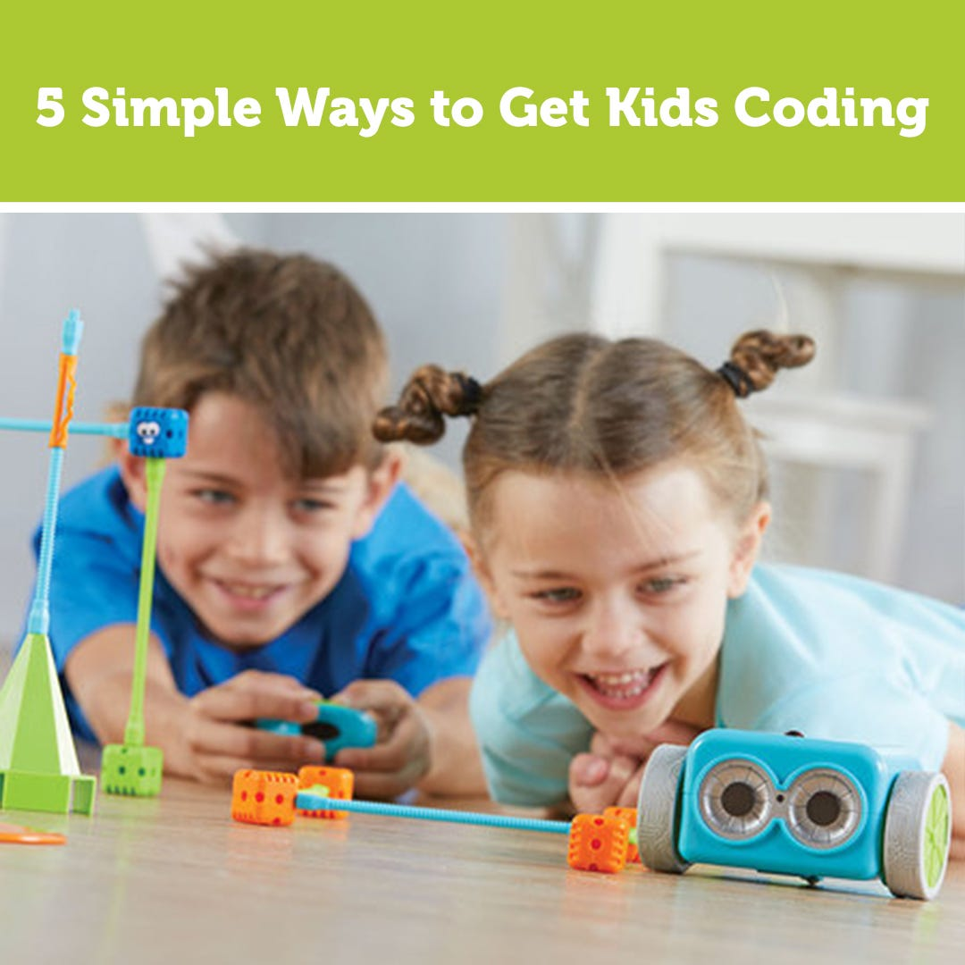 5 Simple Ways to Get Kids Coding