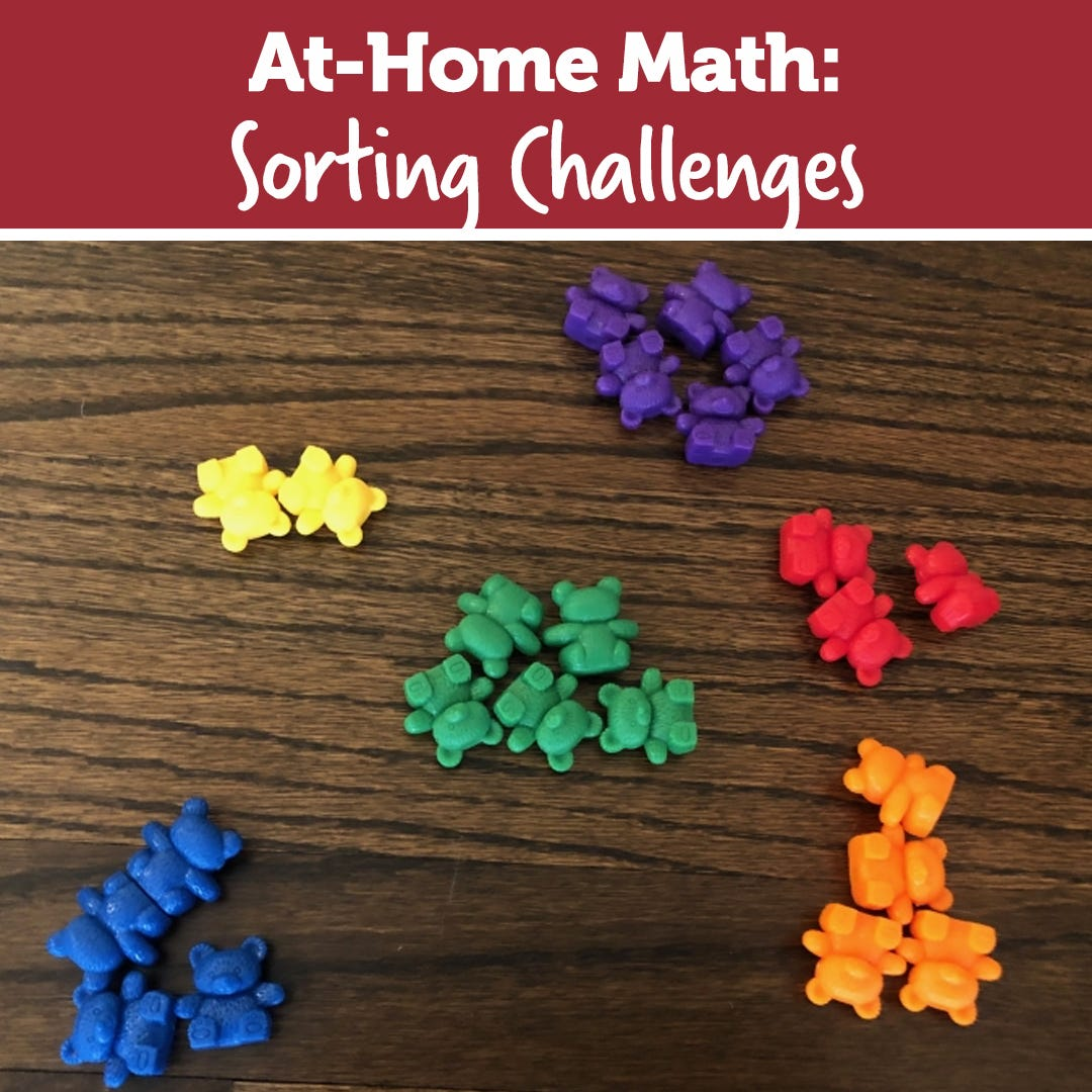 Stay At Home STEM: The Sorting Challenge
