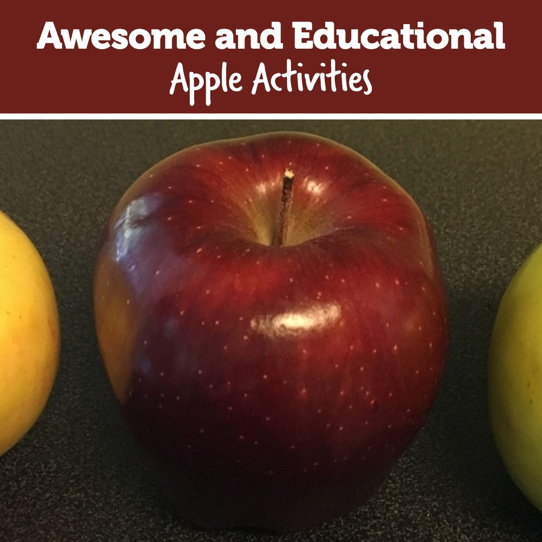 Awesome and Educational Apple Activities