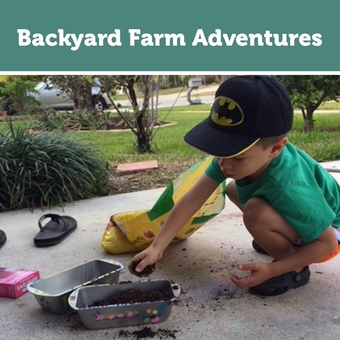 Backyard Farm Adventures