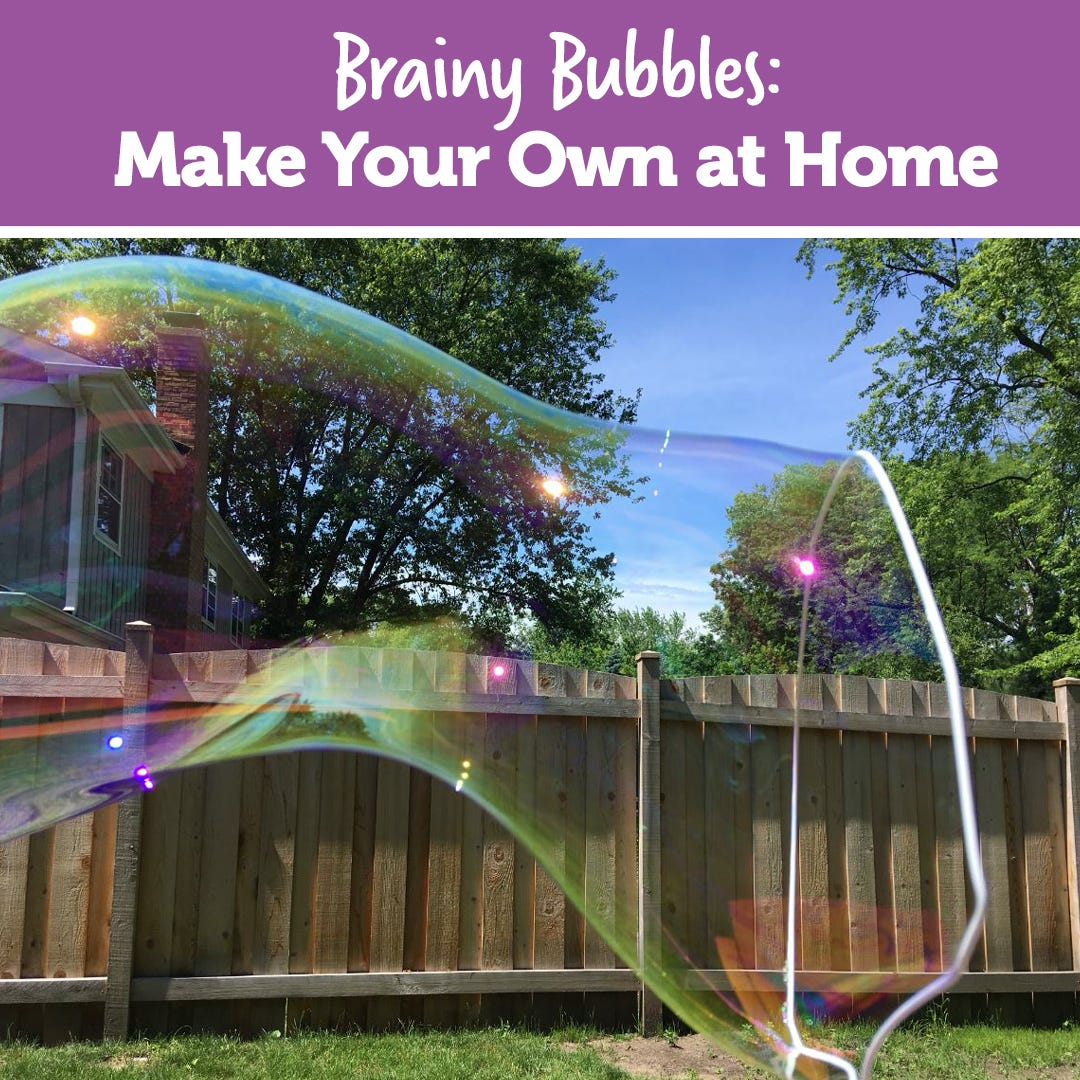 Brainy Bubbles: Make Your Own at Home