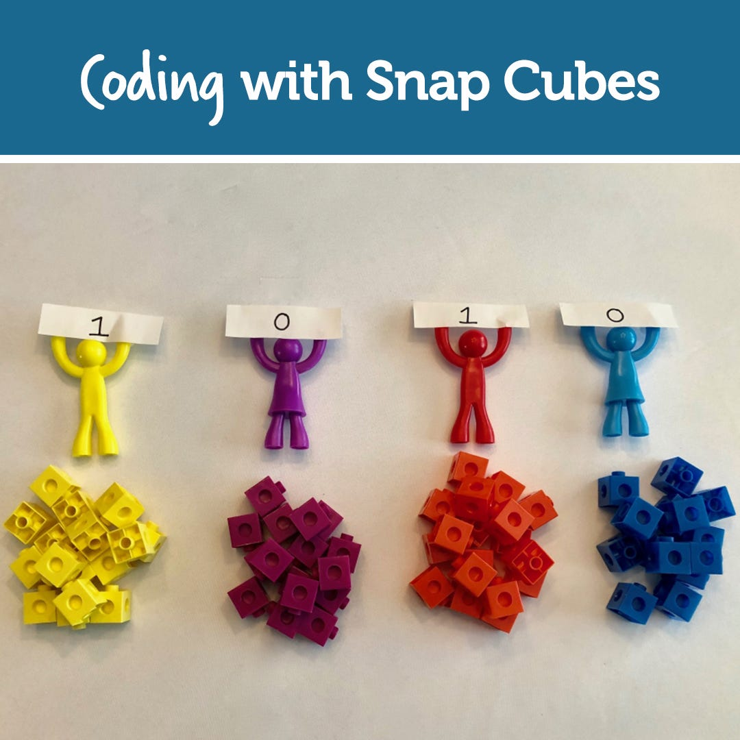 Coding with Snap Cubes!
