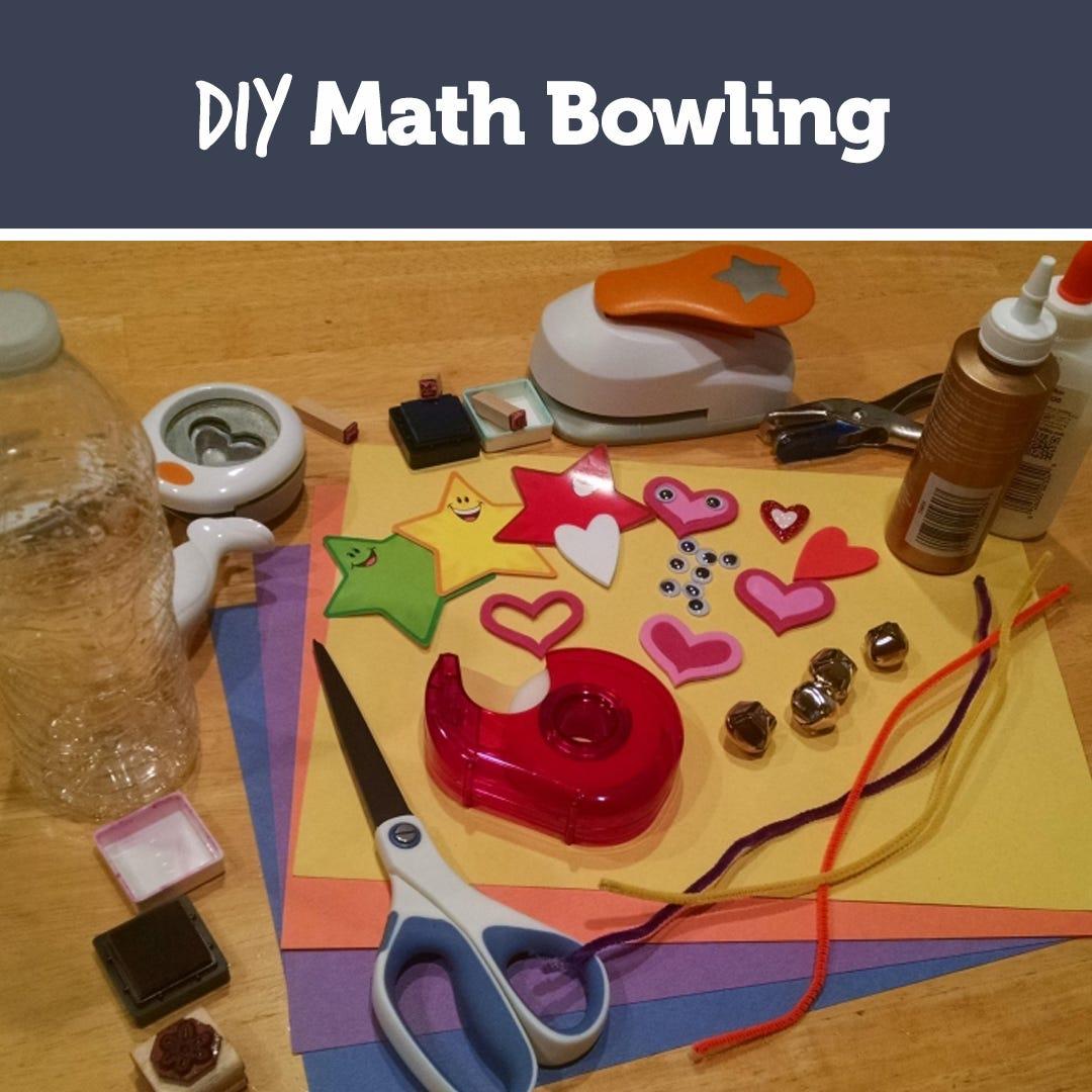 DIY Math Bowling